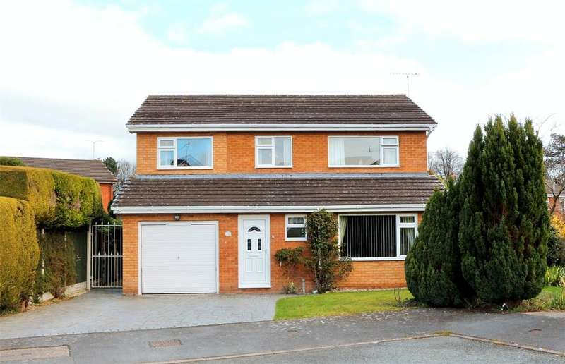 4 Bedrooms Detached House for sale in Ffordd Frondeg, The Ithens, Wrexham, LL13