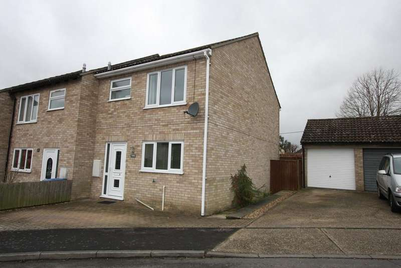 3 Bedrooms End Of Terrace House for sale in Newton Croft, Sudbury