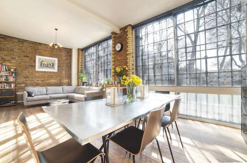 2 Bedrooms Flat for sale in Tanners Yard, SE1