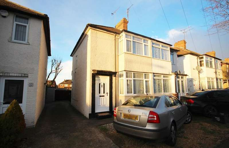 2 Bedrooms Semi Detached House for sale in Third Avenue, Sundon Park, Luton, LU3