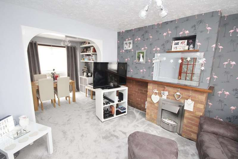 3 Bedrooms End Of Terrace House for sale in High Beech Road, Sundon Park, Luton, LU3