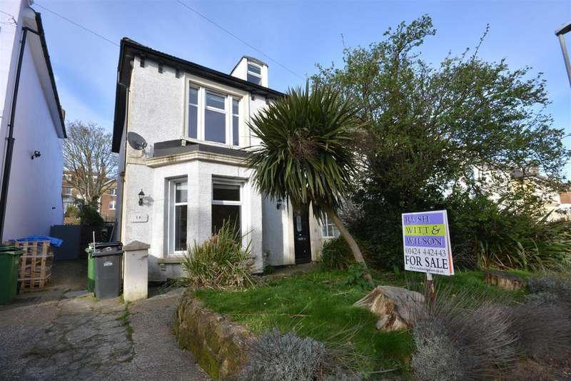 4 Bedrooms Semi Detached House for sale in Springfield Road, St Leonards On Sea
