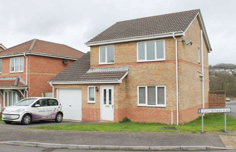3 Bedrooms Detached House for sale in Authors Place, Llanharan, CF72 9UR