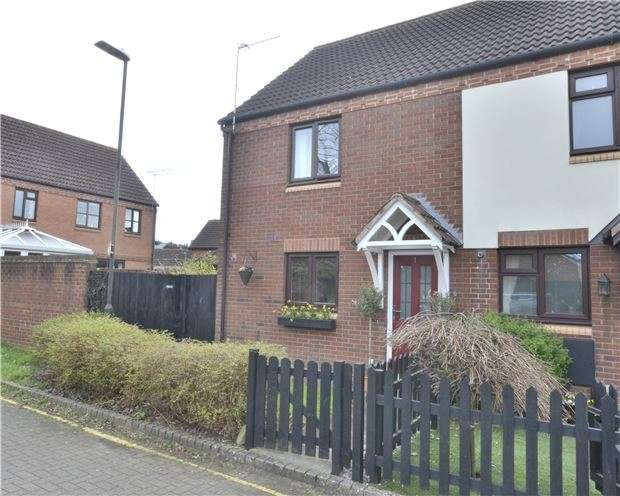 3 Bedrooms End Of Terrace House for sale in Whitworth Mews, Hucclecote, GLOUCESTER, GL3 3TN