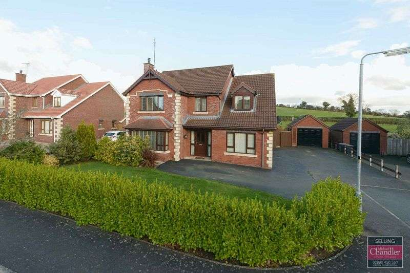 5 Bedrooms Detached House for sale in 32 Old Coach Way, Saintfield, BT24 7PG