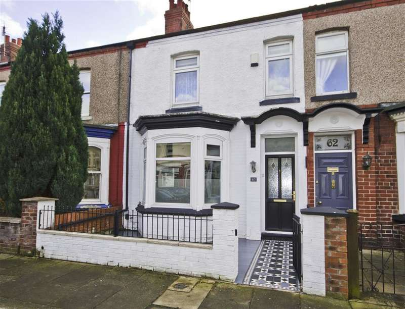 3 Bedrooms Terraced House for sale in Sydenham Road, Stockton-on-Tees, TS18 4DE