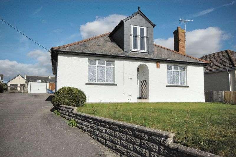 4 Bedrooms Detached Bungalow for sale in 98 Fontygary Road, Rhoose, Vale of Glamorgan, CF62 3DU
