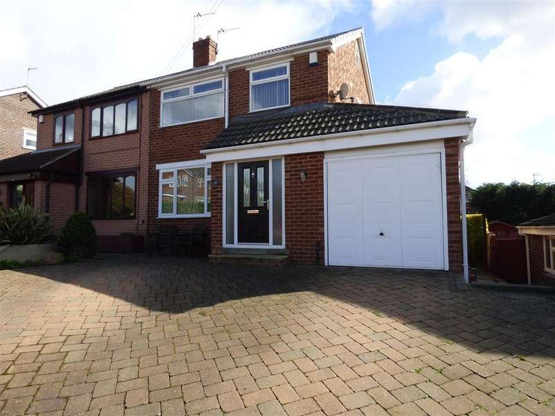 3 Bedrooms Semi Detached House for sale in Norwood Drive, Birkenshaw, BD11 2NS