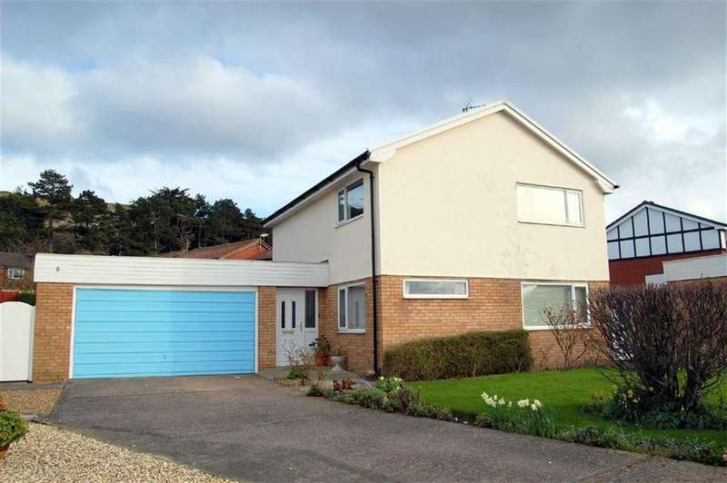 4 Bedrooms Detached House for sale in Lewis Close, Liddell Park, Llandudno, Conwy