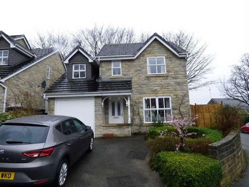 4 Bedrooms Detached House for sale in Brooklands Drive, Glossop, Derbyshire, SK13