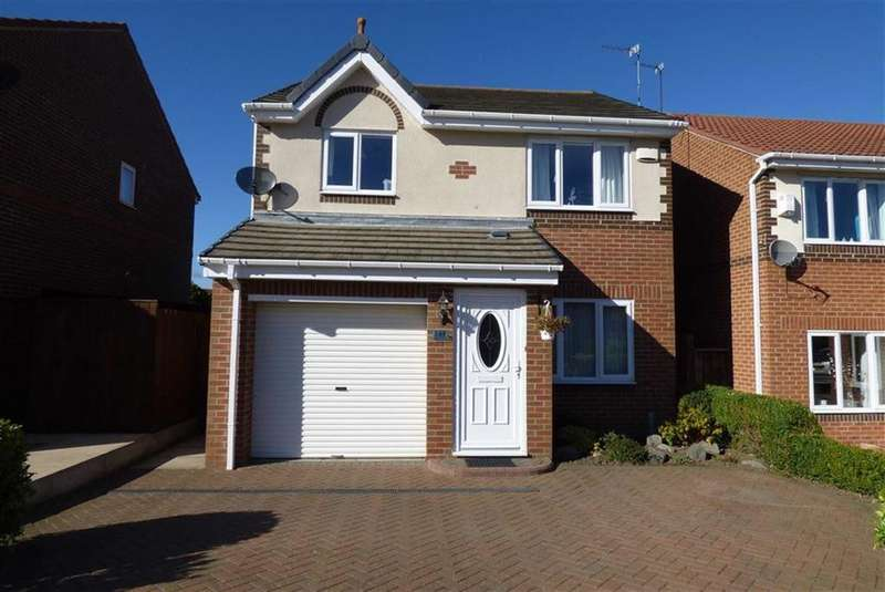 3 Bedrooms Detached House for sale in Abbots Way, North Shields, Tyne Wear