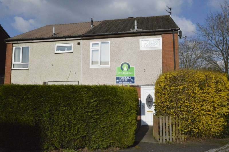 3 Bedrooms Semi Detached House for sale in Stone Row, Telford, TF3