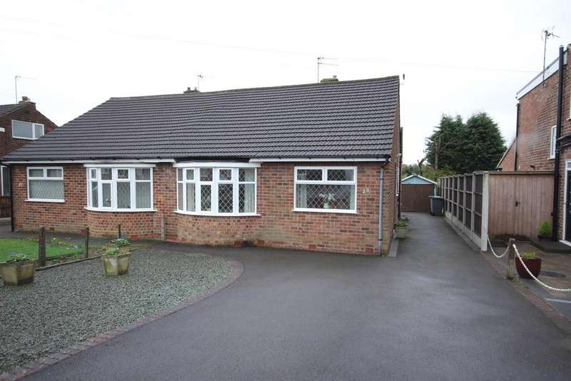 2 Bedrooms Semi Detached Bungalow for sale in Wells Road, Mickleover, Derby