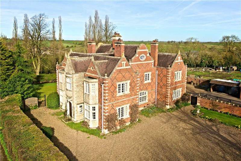 6 Bedrooms Detached House for sale in Vicarage Lane, Denton, Northamptonshire