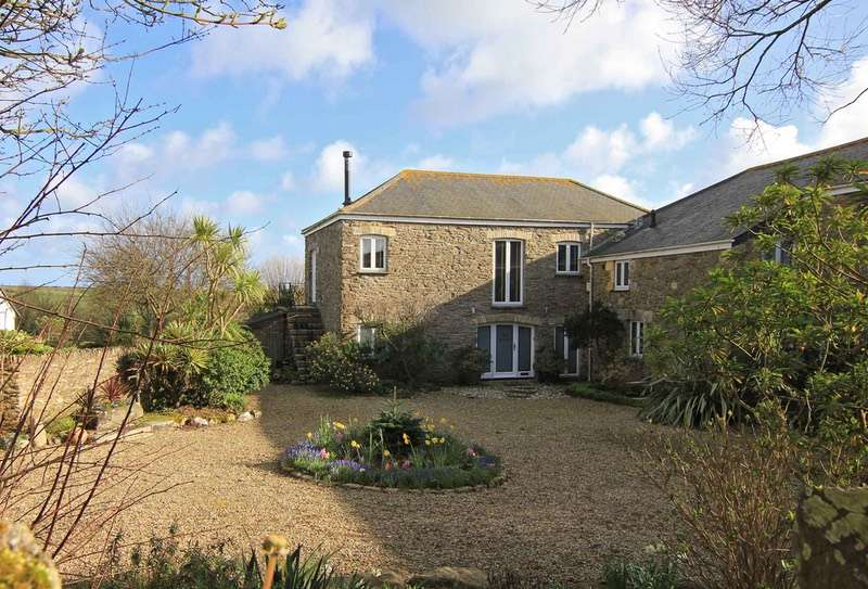 4 Bedrooms Barn Conversion Character Property for sale in Boswinger, St. Austell, Cornwall, PL26