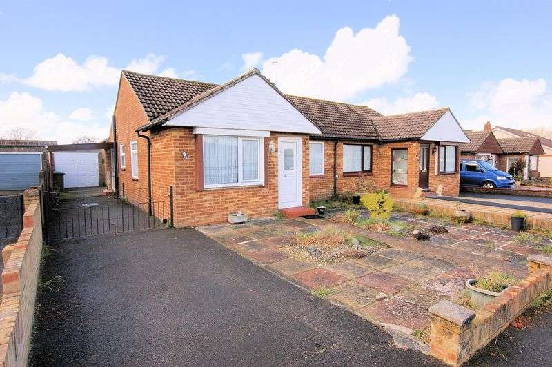 3 Bedrooms Semi Detached Bungalow for sale in Shenley Close, Fareham