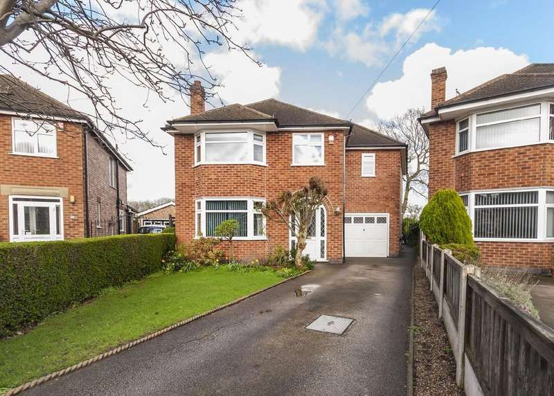 4 Bedrooms Detached House for sale in Clarence Road, Attenborough