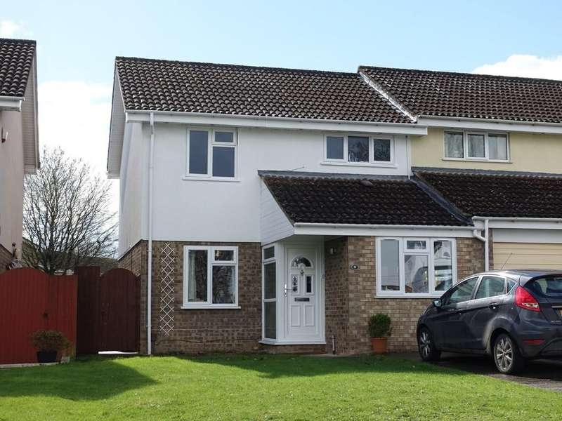 3 Bedrooms Semi Detached House for sale in Woburn Close, Trowbridge