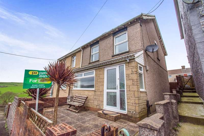 3 Bedrooms Semi Detached House for sale in Beech Street, Gilfach Goch, Porth