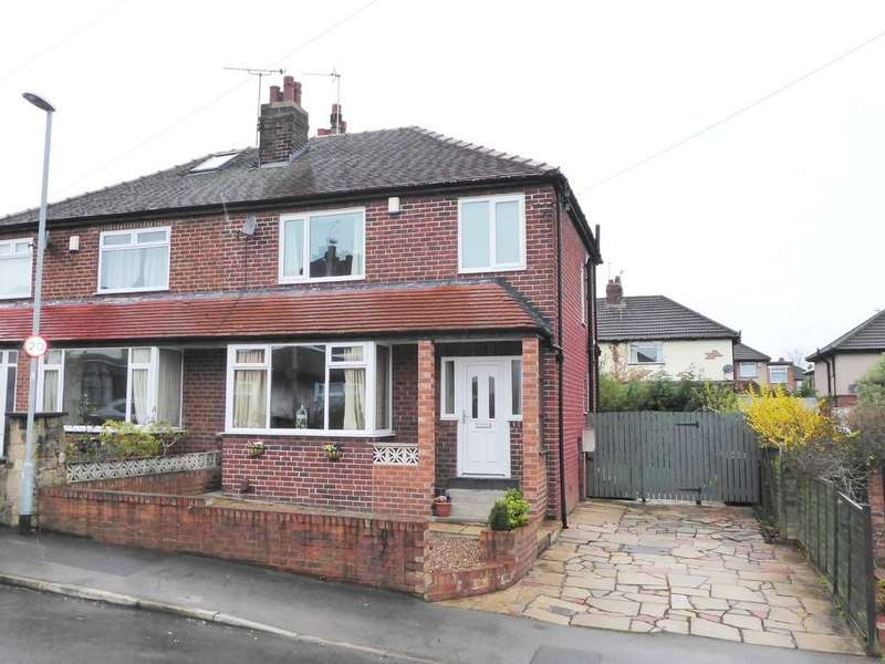 3 Bedrooms Semi Detached House for sale in Merton Avenue, Farsley