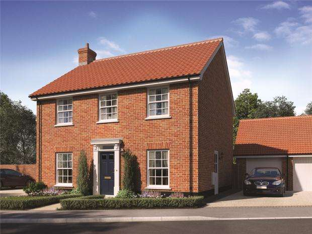 4 Bedrooms Detached House for sale in Mulberry Grove, North Walsham
