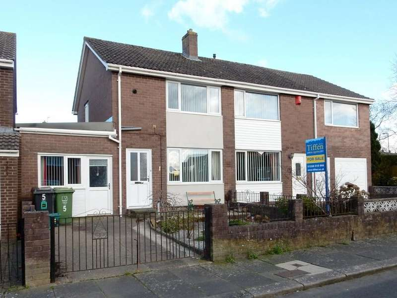 2 Bedrooms Semi Detached House for sale in Lodore Drive, Sandsfield Park, Carlisle