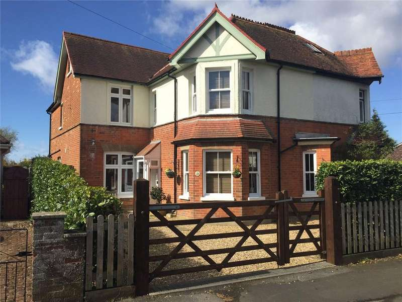 5 Bedrooms Semi Detached House for sale in Mount Avenue, New Milton, Hampshire, BH25