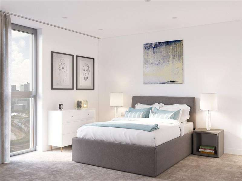 1 Bedroom Flat for sale in Hallsville Quarter, Canning Town, London, E16
