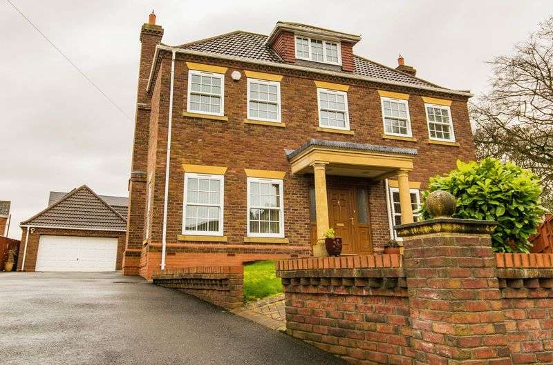 5 Bedrooms Detached House for sale in Curtis Close, Barton-Upon-Humber, DN18