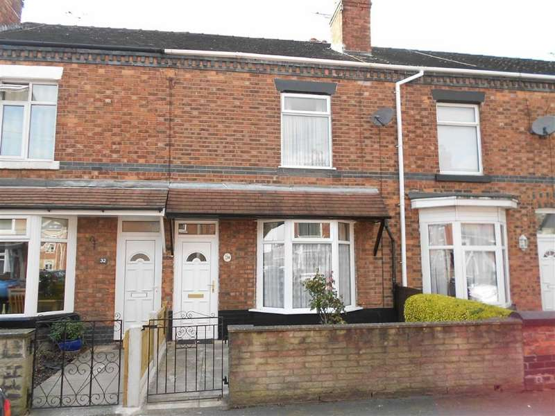 2 Bedrooms Terraced House for sale in Gresty Terrace, Crewe, Cheshire
