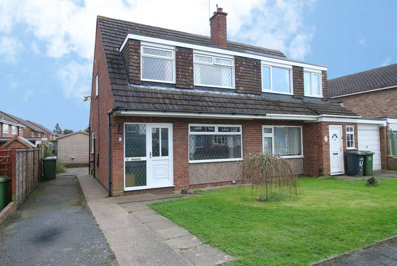 3 Bedrooms Semi Detached House for sale in Willowfield Drive, Kidderminster, DY11