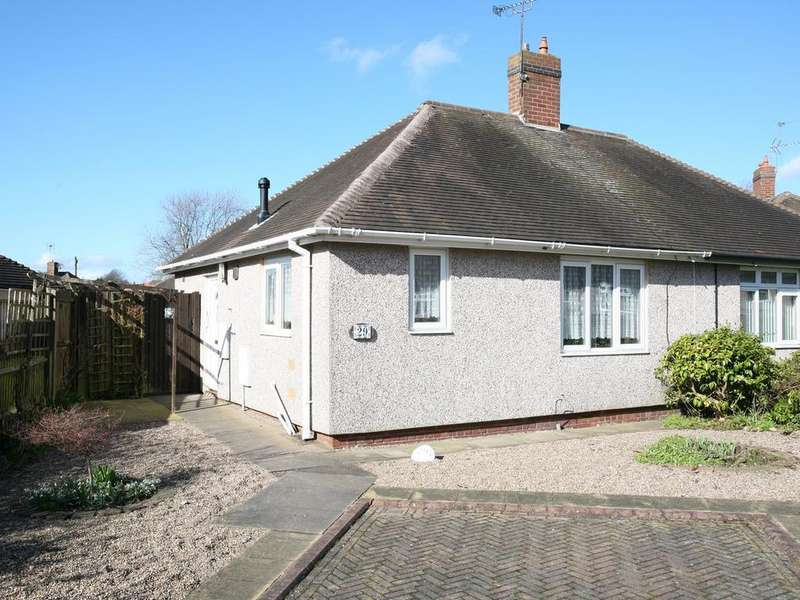 1 Bedroom Semi Detached Bungalow for sale in 29 Kent Place, Heath Hayes, WS12 2EG
