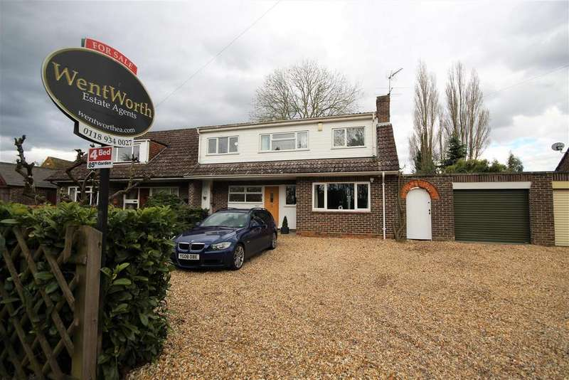 4 Bedrooms Semi Detached House for sale in Lodge Road, Whistley Green, Reading