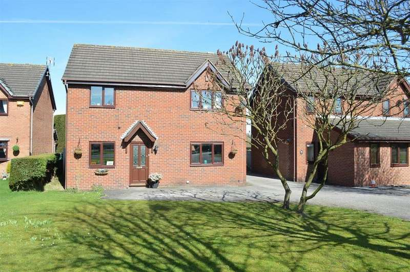 4 Bedrooms Detached House for sale in Boulton Close, Malkins Bank, Sandbach
