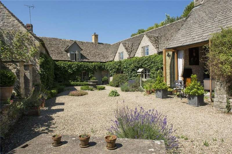 5 Bedrooms Detached House for sale in Queen Street, Chedworth, Cheltenham, Gloucestershire, GL54