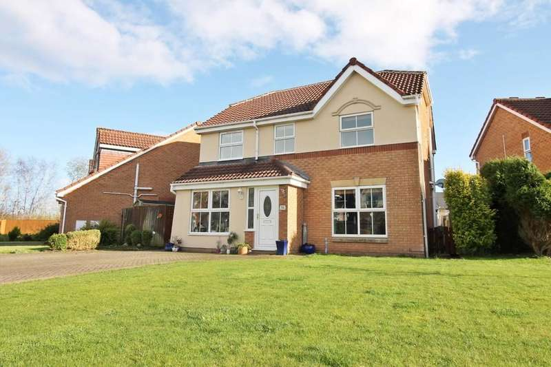 4 Bedrooms Detached House for sale in Antonine Way, Houghton, Carlisle