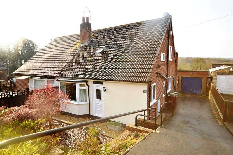 3 Bedrooms Semi Detached Bungalow for sale in Newlay Wood Crescent, Horsforth, Leeds, West Yorkshire