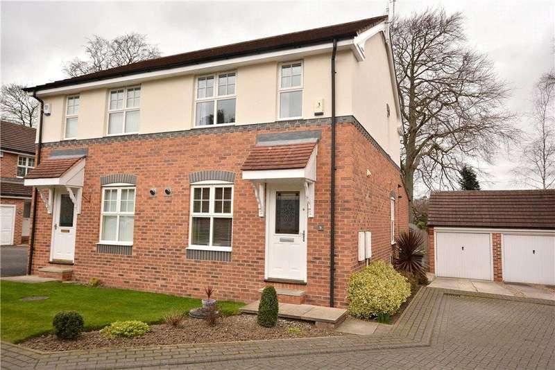 3 Bedrooms Semi Detached House for sale in Meadow Walk, Chapel Allerton, Leeds
