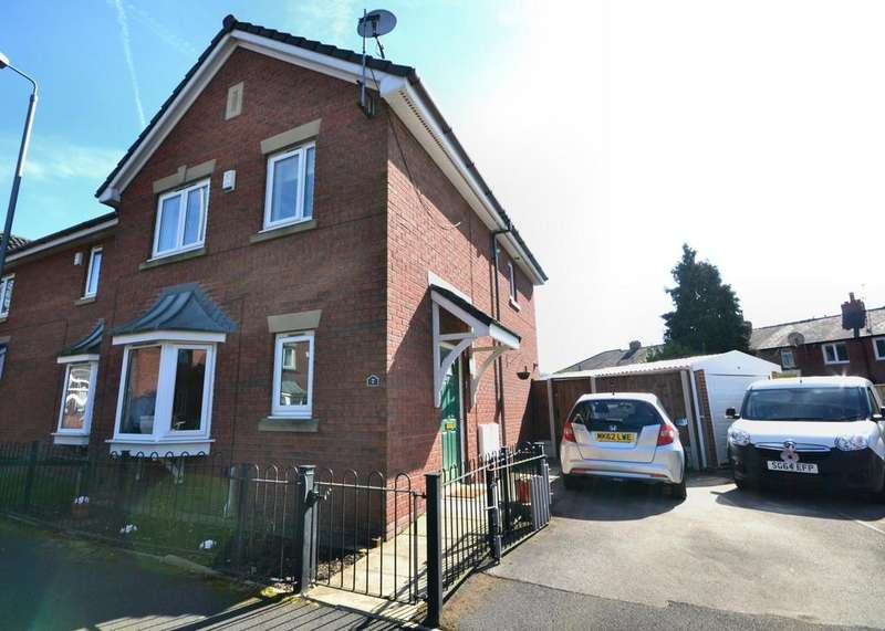 3 Bedrooms Semi Detached House for sale in Oakham Avenue, Withington