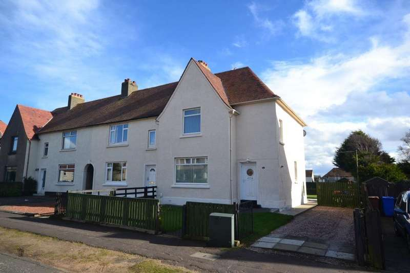 3 Bedrooms Semi-detached Villa House for sale in 6 Lochlea Avenue, Troon, KA10 7BN