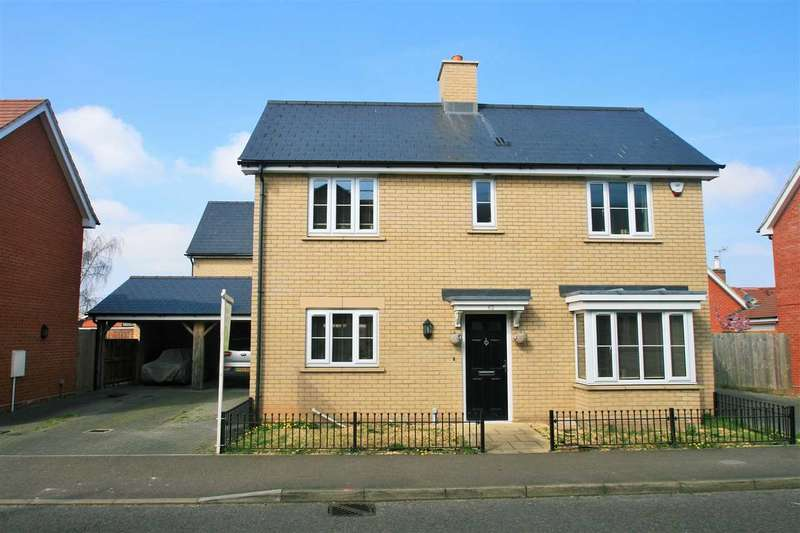 3 Bedrooms Detached House for sale in New Farm Road, Stanway, Colchester