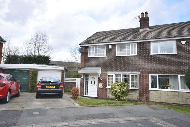 3 Bedrooms Semi Detached House for sale in Cambridge Close, Farnworth, Bolton, BL4