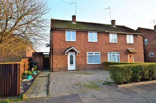 3 Bedrooms Semi Detached House for sale in Drydale Avenue, NORTHAMPTON