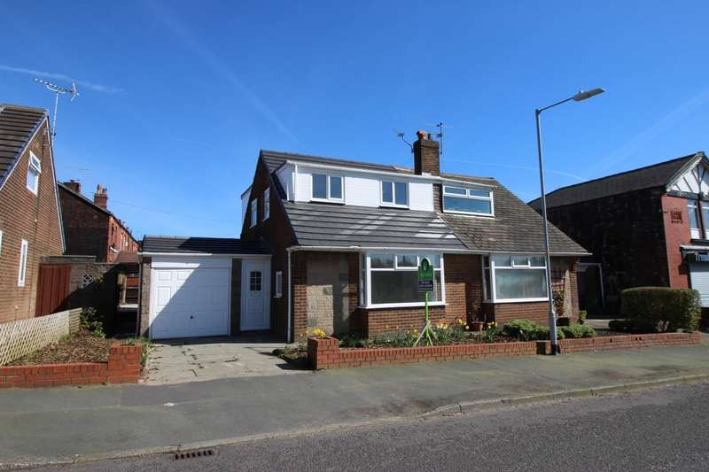 3 Bedrooms Semi Detached House for sale in Dobson Road, Heaton, Bolton, BL1