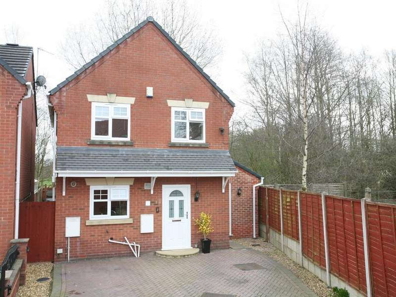 3 Bedrooms Detached House for sale in 2 Locketts Court, Cannock, WS11 5FZ
