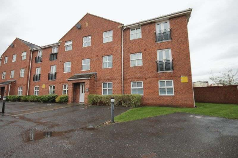 2 Bedrooms Flat for sale in LYNMOUTH HOUSE, WELLAND ROAD, HILTON