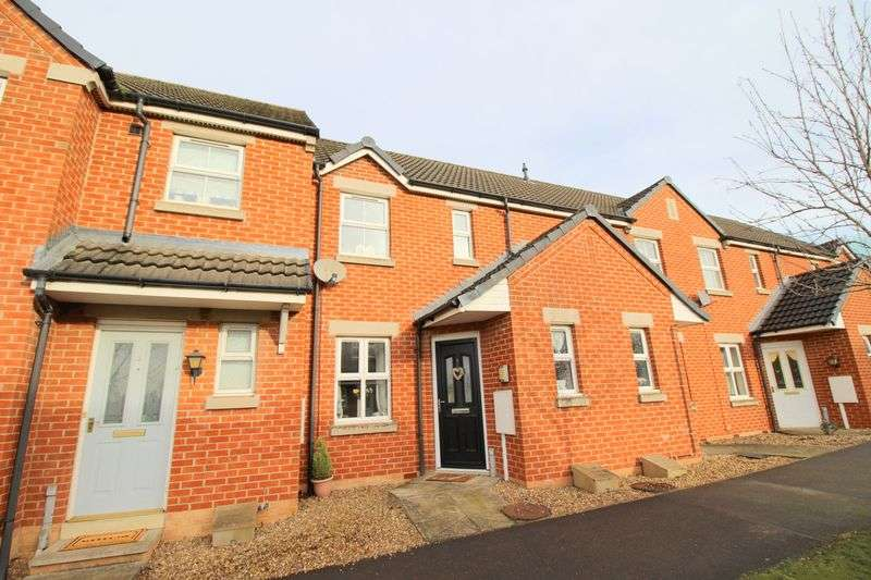 2 Bedrooms Terraced House for sale in Manrico Drive, St. Georges Park, Lincoln