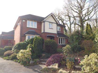 4 Bedrooms Detached House for sale in Meadoway, Tarleton, Preston, Lancashire, PR4
