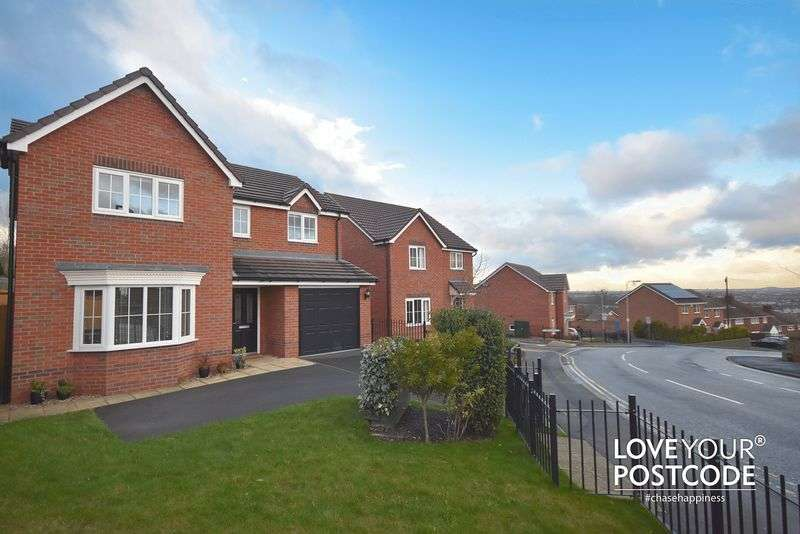 4 Bedrooms Detached House for sale in Poplar Rise, Oldbury B69 1RD