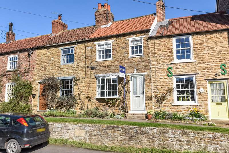 2 Bedrooms Terraced House for sale in East End, Sheriff Hutton, York, YO60 6SX